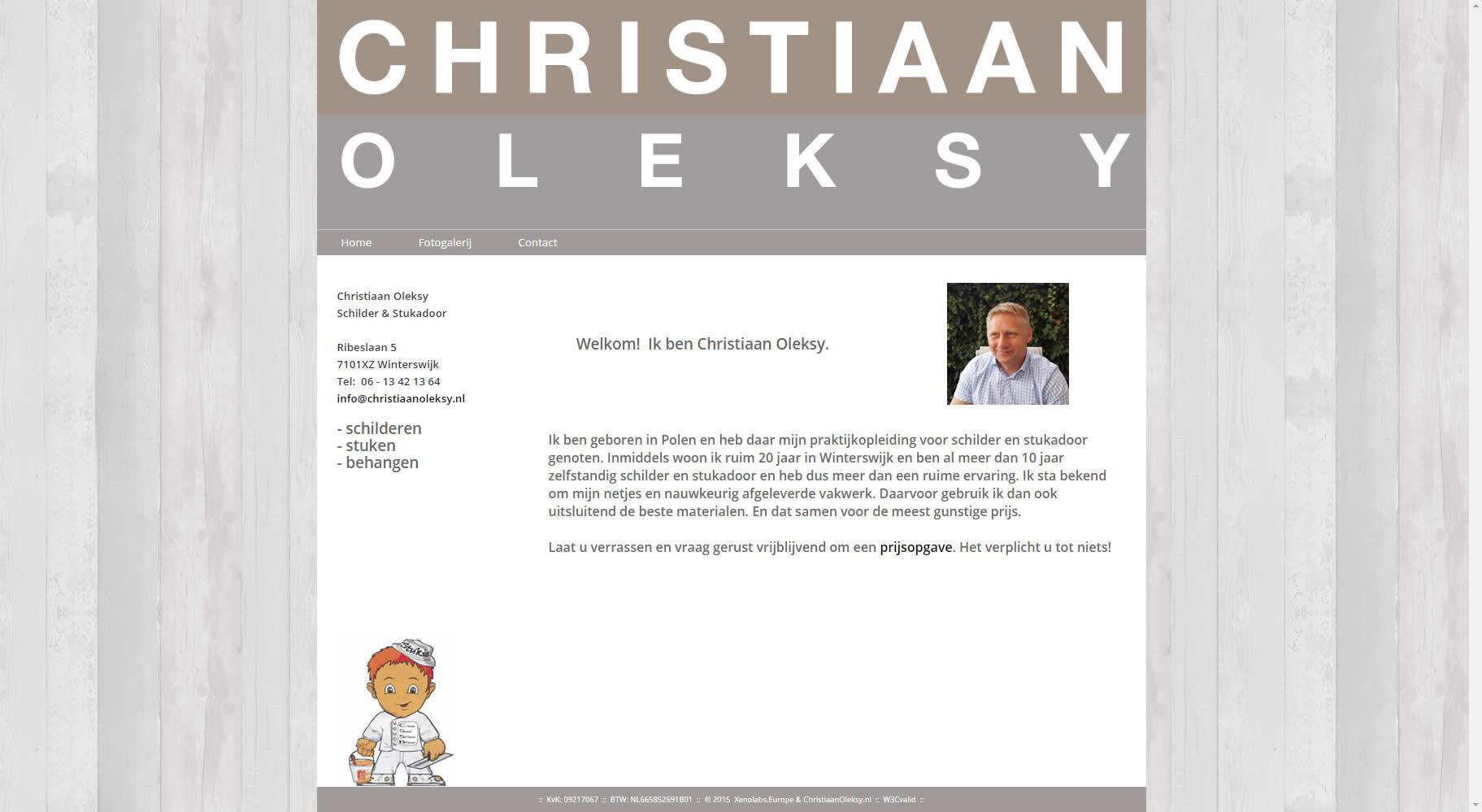 christiaanoleksy.nl